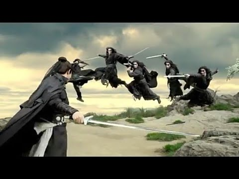 Shadow Fight!  Best Chinese Movie!  The Sword Master
