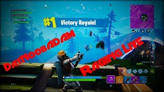 Presented by Crown Vanilla: Top Fortnite Rager Live Stream (XBox One) VBucks Giveaway at 1600 Subs