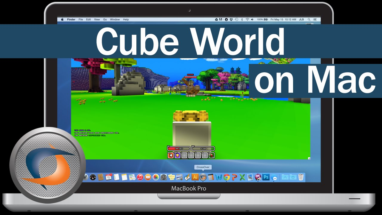 cube world on mac