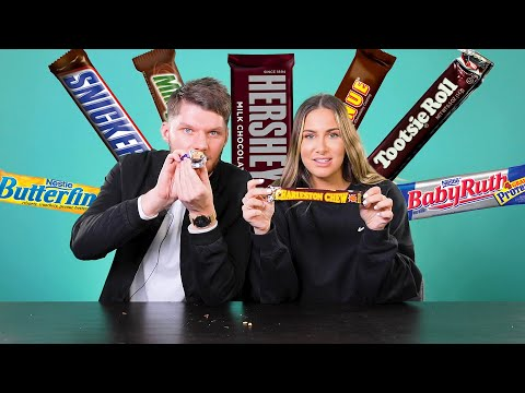 British People Rank American Chocolate Bars From Worst To Best