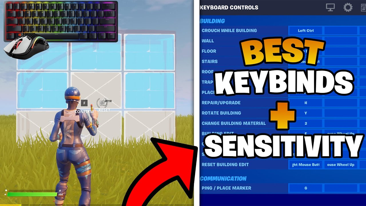Download The BEST Keybinds and Sensitivity for Beginners & Switching to Keyboard & Mouse Players! (Season 7)