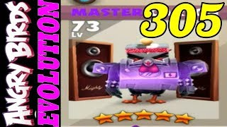 Angry Birds Evolution - Gameplay Walkthrough #305 - MASTER CARSON LEVEL 73 (iOS, Android)