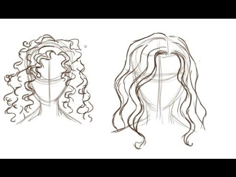 How To Draw Hair Easily
