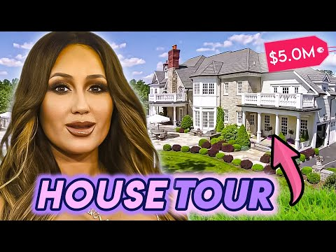 Adrienne Houghton | House Tour | Traditional New York Mansion, Calabasas Home & More