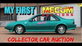 My First Mecum Collector Car Auction