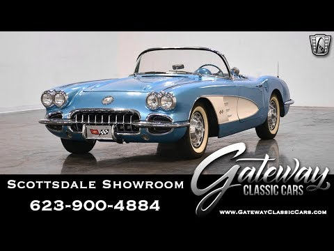 1959 Cherolet Corvette 283 V8 4spd Gateway Classic Cars of Scottsdale #468