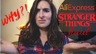 #strangerthings #aliexpresshaul AliExpress Haul | Stranger Things Merch