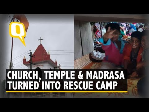 This Kodagu Town Turned Church, Temple & Madrasa into Rescue Camps | The Quint