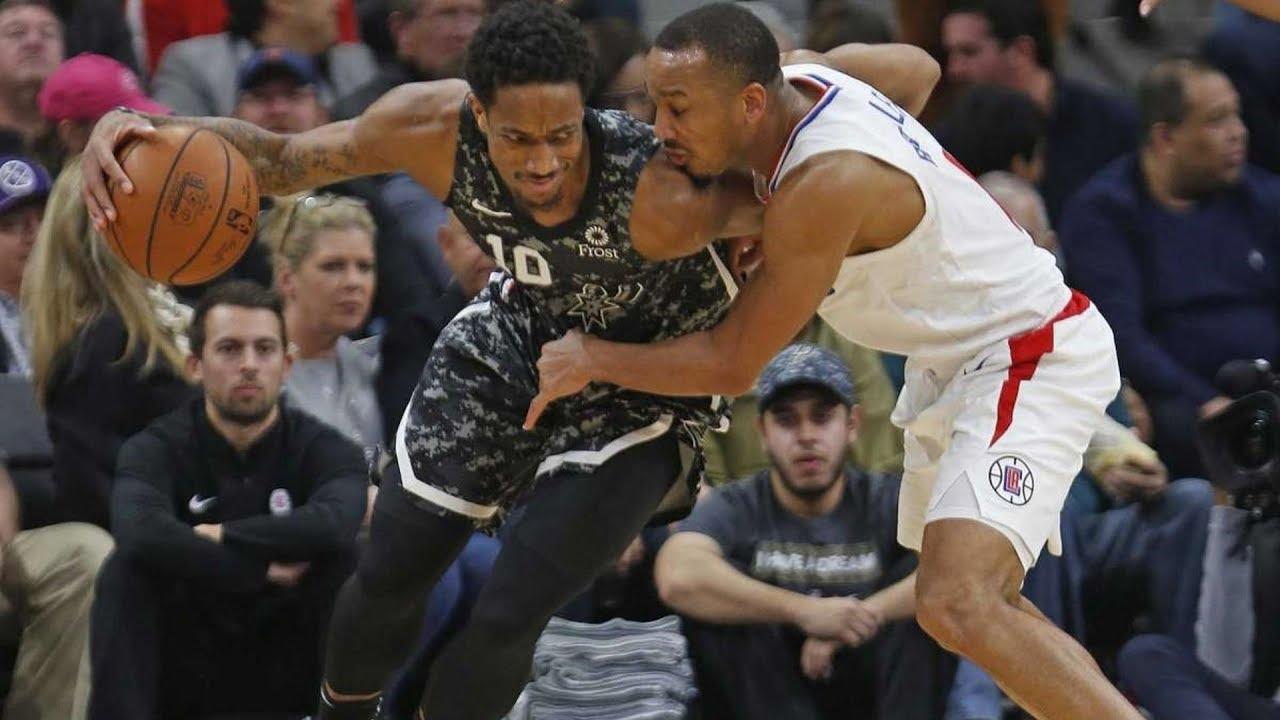 DeRozan Slump! Tobias Harris 27 Points vs Spurs! 2018-19 NBA Season