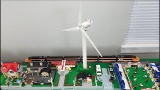 v2Movie : Alternative Build for LEGO Vestas Wind Turbine 10268