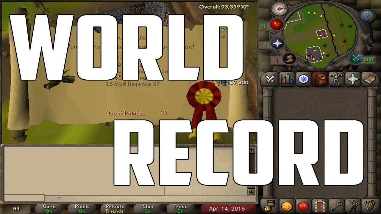 Download [World Record] All F2P Quests Speedrun - 2:28:28 - Oldschool Runescape