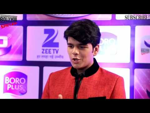 Bhavya Gandhi (TAPPU) At Zee Gold Awards 2016