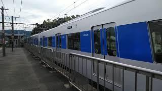 【甲種輸送】都営地下鉄三田線6500形 JR京都線 山崎駅通過