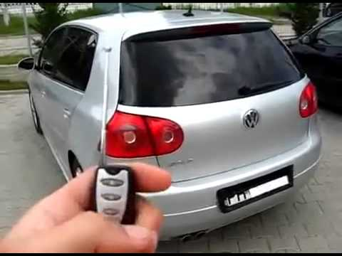 Hide number plate with remote control - Scam method