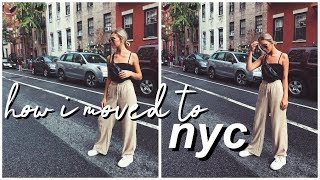 I MOVED TO NYC | Travel with Me, Moving Tips, NYC Exploring, & More