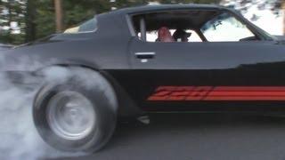 Camaro Z28 on Hoosiers - Street Burnout | MassRacingChannel