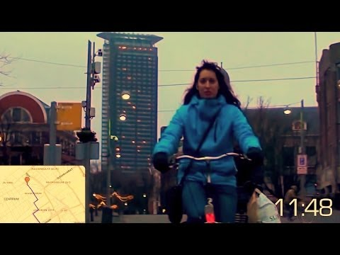 Cycling in The Hague [Full HD]