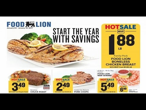 Food Lion Weekly Ad 2017 In This Week Weekly Ads Youtube