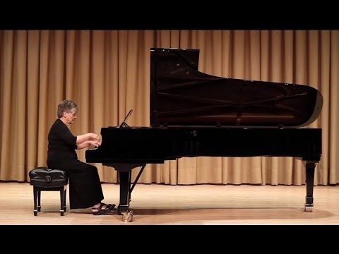 Martin Kutnowski: Five Tango Etudes - Janet Hammock, piano
