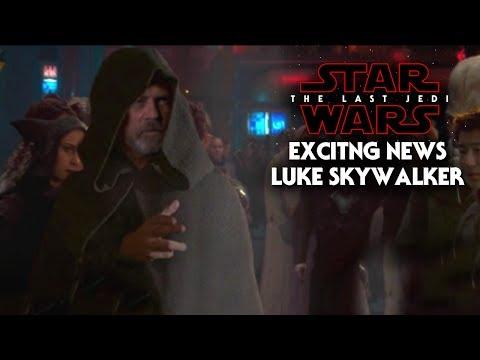Star Wars The Last Jedi Exciting News Of Luke Skywalker & Mark Hamill