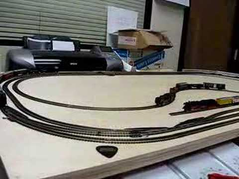marklin Z scale trains – my desk