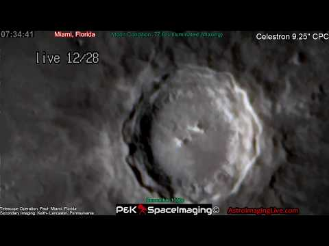 HEADING TOWARDS THE BLUE SUPER MOON! UP CLOSE CRATERS LIVE!! 12-28-17