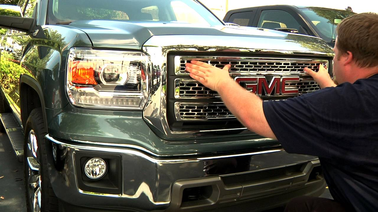 Cci Grille Overlay Upgrades 2014 Gmc Sierra Youtube