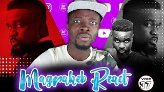 Sarkodie Is Back! Magraheb reacts to his latest 'Legend' video with Joey B