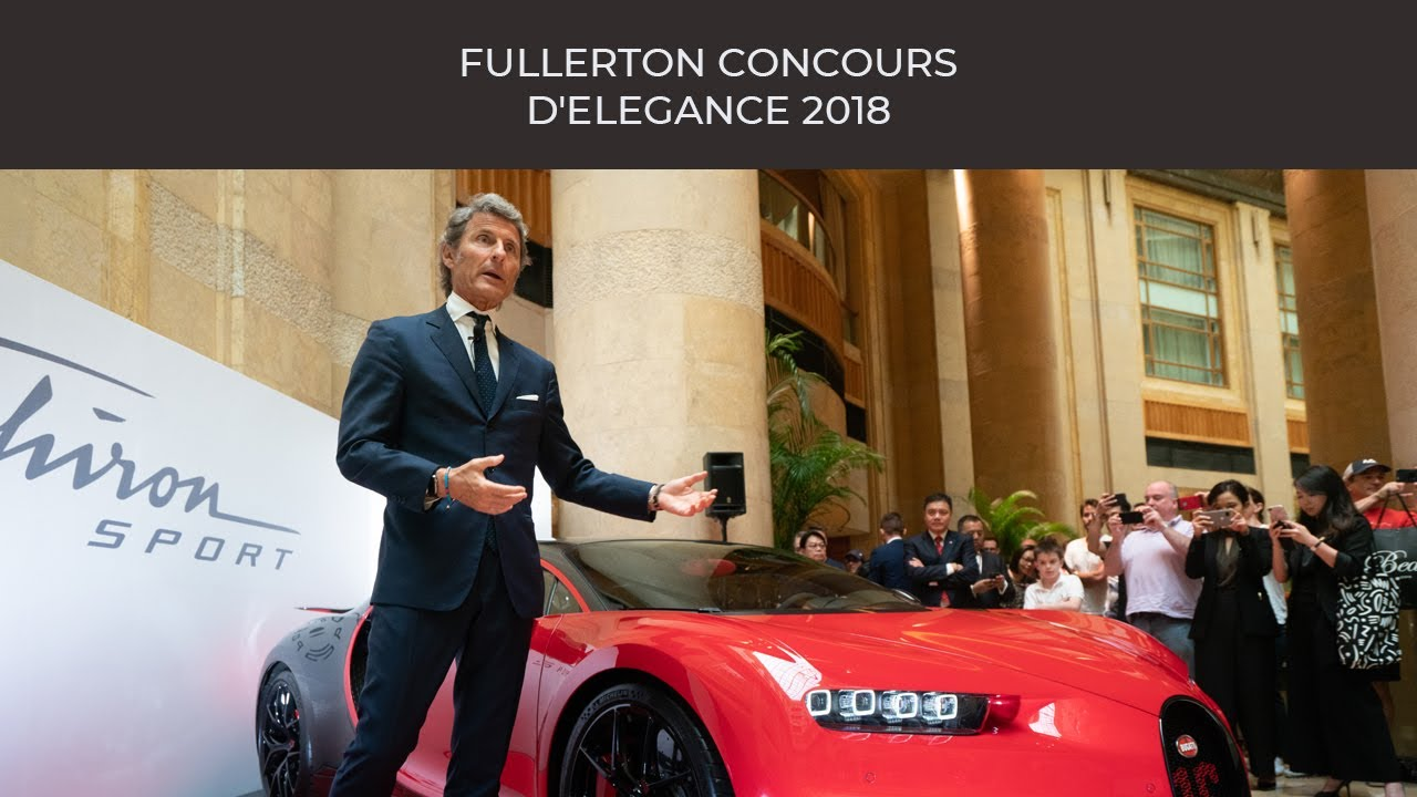 Highlights Of Fullerton Concours DElegance YouTube - Fullerton car show 2018
