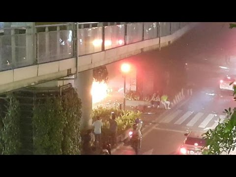 Amateur video: Moment of Bangkok blast captured on Chinese tourist's cam