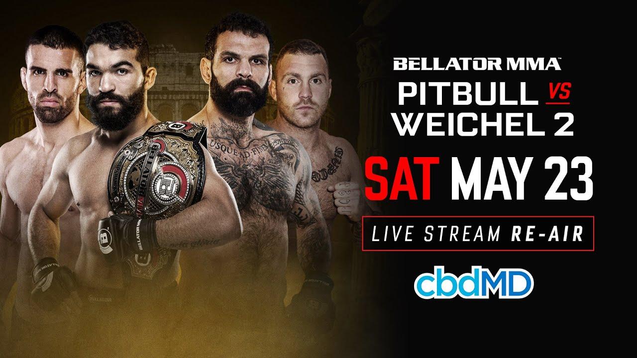 Re-Air | Bellator 203: Pitbull vs. Weichel 2