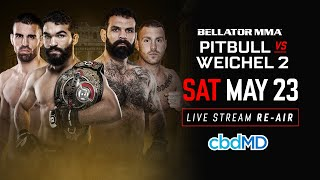 Re-Air | Bellator 203: Pitbull vs. Weichel 2