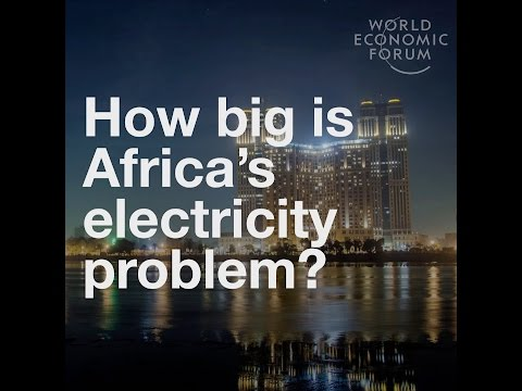 Africa has an electricity problem How big is it?