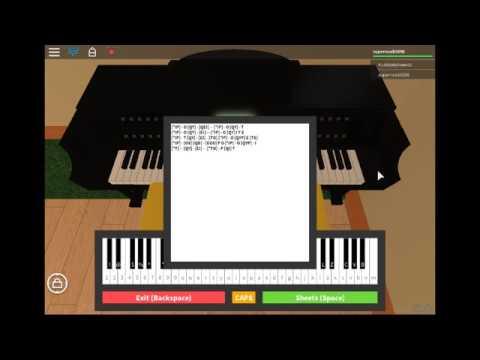 Minecraft Piano Sheet Music Roblox Roblox Piano Minecraft Youtube