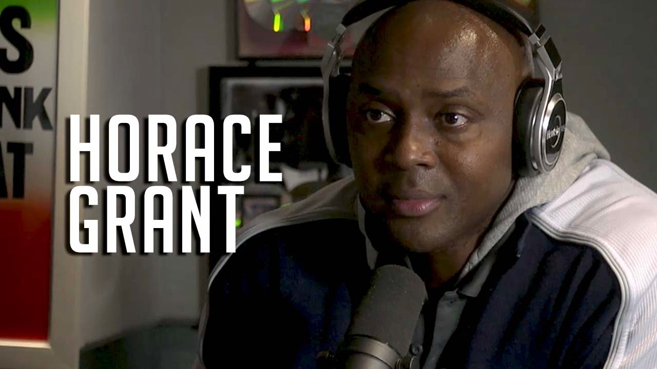 Horace Grant Goes In The REAL Michael Jordan