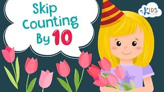 Skip Counting by 10 for Kids   How to Skip Counting