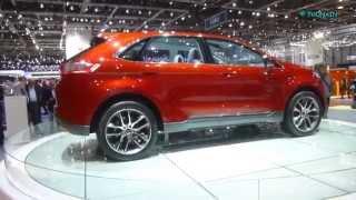 FORD EDGE - NEW CAR - SALON AUTO GENEVE - GENF SALON AUTOMOBIL -