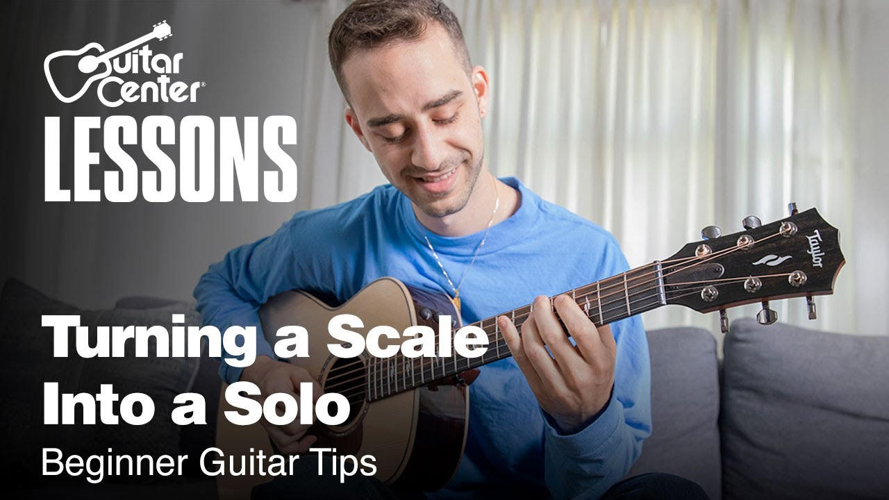 Turning a Scale Into a Solo | Beginner Guitar Tips
