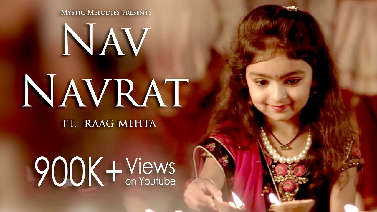Nav Navrat  | Garba Anthem Full Song 2017 | Raag Mehta | Zalak Pandya | Dhruwal Patel #1