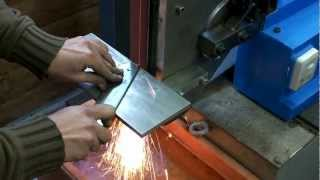 Levigatrice Smerigliatrice A Nastro Artigianale Coltelli Handmade Belt Grinder