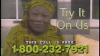 Esther Rolle in a Psychic Hotline Commercial from 1997