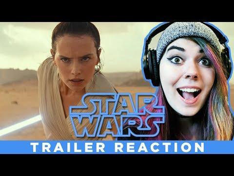 Star Wars Episode 9 TRAILER REACTION!!!