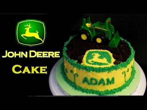 John Deere Tractor Farming Cake YouTube