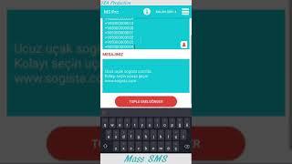 Toplu SMS Öğretici - Mass SMS Tutorial