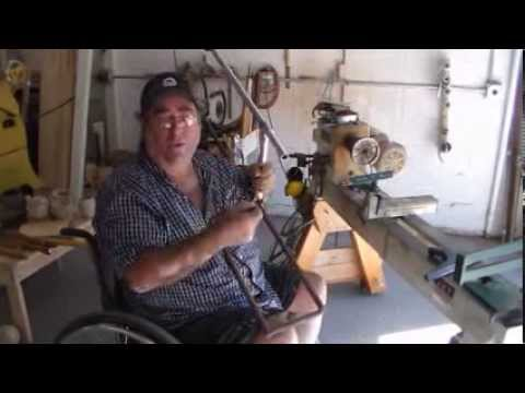 Boring Bar System Demonstration by The Wheeling Woodworker