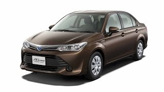 2016 Toyota Corolla Axio Hybrid Startup And Review