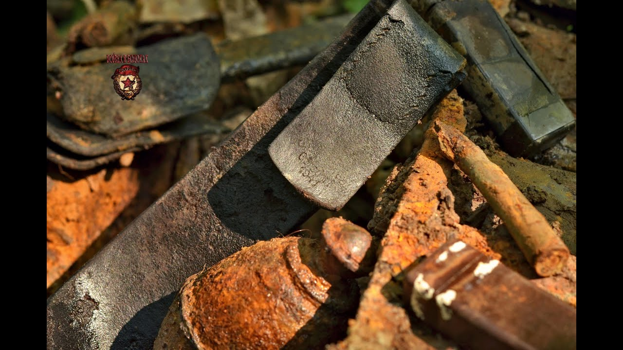 Летние блиндажи / Summer excavation of dugouts