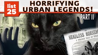 25 Urban Legends in Every US State (Part 2)