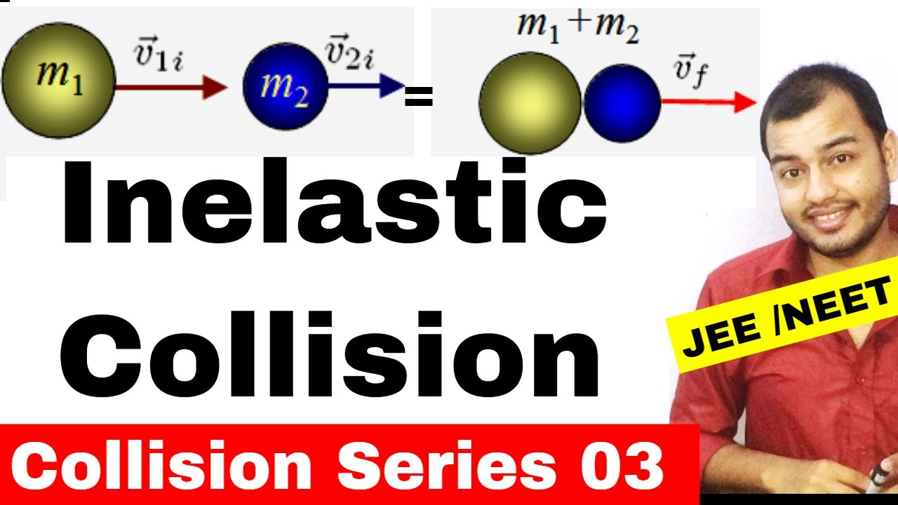 Centre Of Mass 09 Collision Series 03 Inelastic Collisions
