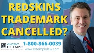 Why was Redskins Trademark canceled?
